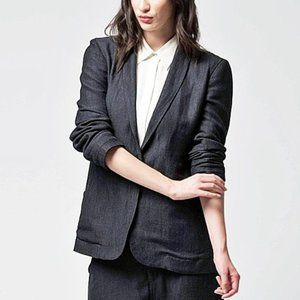 NWT Art of the Gentlewoman Slouch Blazer, size 0